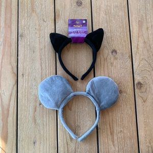 Cat and mouse headbands (5 $5 pieces for &15)